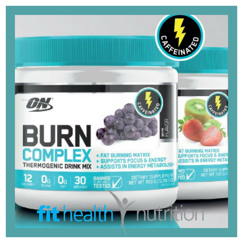 Optimum Nutrition Burn Complex Caffeinated