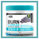 Optimum Nutrition Burn Complex Caffeinated Grape
