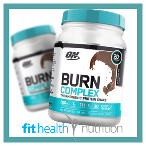 Optimum Nutrition Burn Complex Thermogenic Protein Powder Chocolate