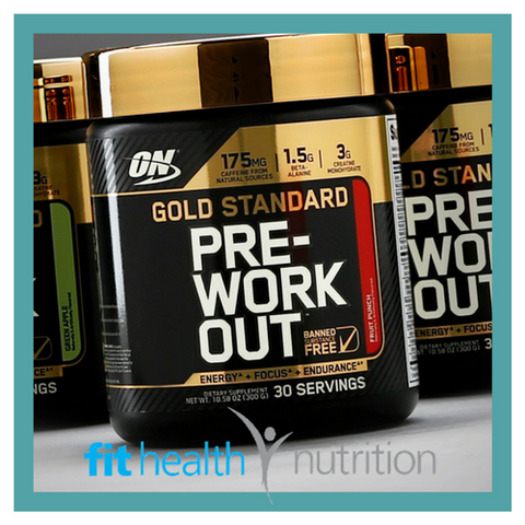 On Optimum Nutrition Gold Standard Pre Workout