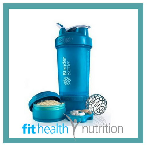 Prostak Blender Bottle Full Cyan