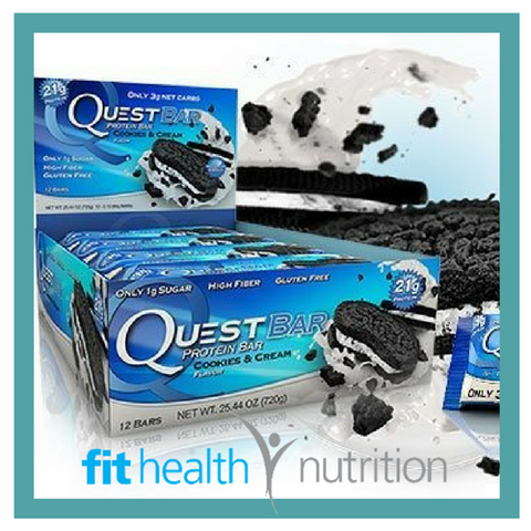 Quest Bar Cookies and Cream Box Quantity