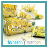 Quest Protein Bar Lemon Cream Pie
