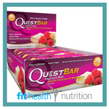 Quest Protein Bar White Chocolate Raspberry