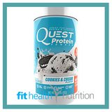 Quest Protein Powder Cookies and Cream