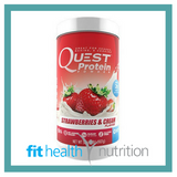 Quest Protein Powder Strawberry and Cream