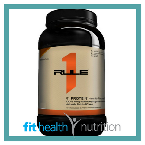 Rule 1 Natural Whey Protein Isolate