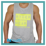 Ryderwear Mens Baller Tank Grey