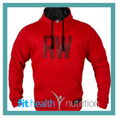 Ryderwear Mens Pull Over Hoodies Red