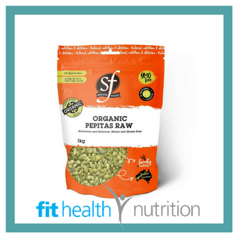 Select health Foods Organic Pepitas Pumpkin Seeds Raw Australia