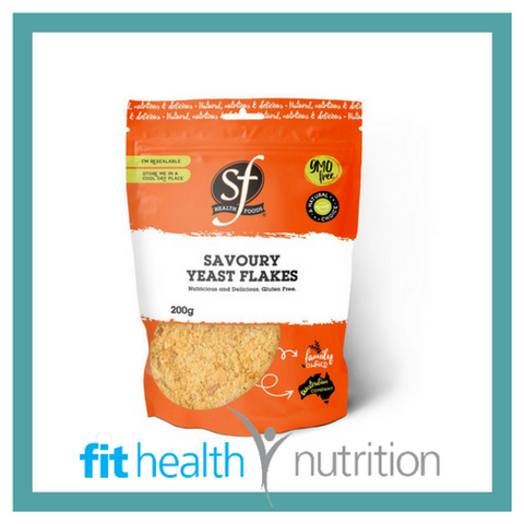 Select Health Foods Nutrition Savoury Yeast Flakes Australia