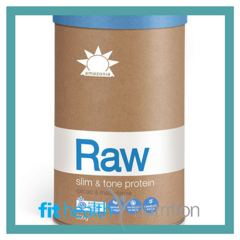 Amazonia Raw Slim & Tone Vegan Weight Loss Protein Mornington Peninsula Health Food Store