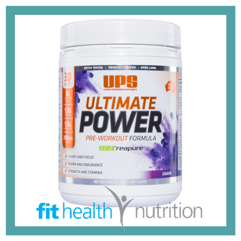 UPS Ultimate Power Preworkout Grape