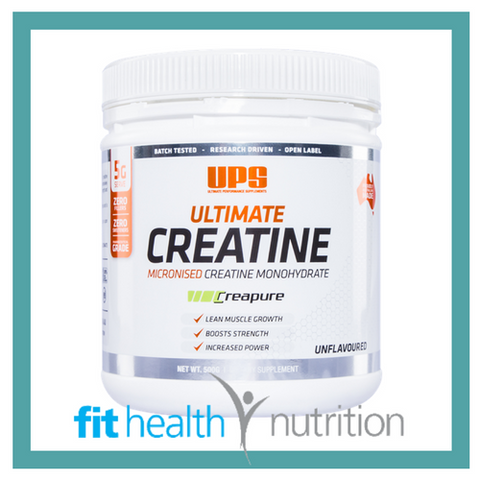 UPS Ultimate Micronised Creatine Monohydrate Sports Nutrition Supplement