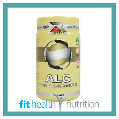 Body Ripped ALC Acetyl L Carnitine