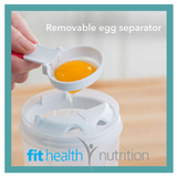 Whiskware 3-in-1 Egg Mixer for Protein Packed Breakfast with a removable egg white seperator