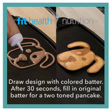 Whiskware Pancake Art Set Draw Fun Designs