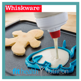 Whiskware Pancake Art Set with Dinosaur Shape