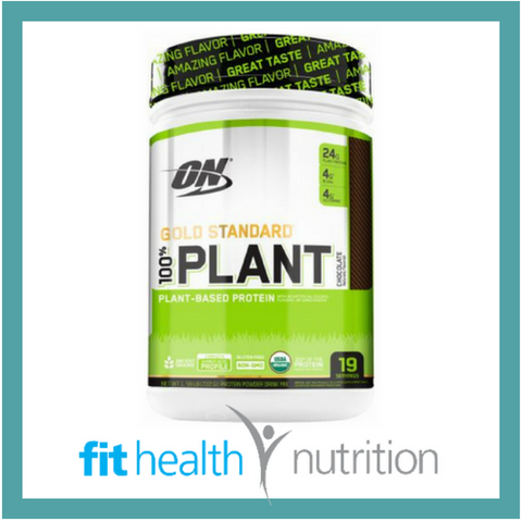 OPTIMUM NUTRITION 100% PLANT VEGAN NATURAL PROTEIN CHOCOLATE