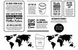 Joco Reusable Glass Coffee Cup Infographic