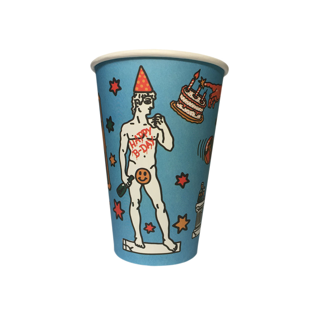 The Rebirthday (15 Party Cups)