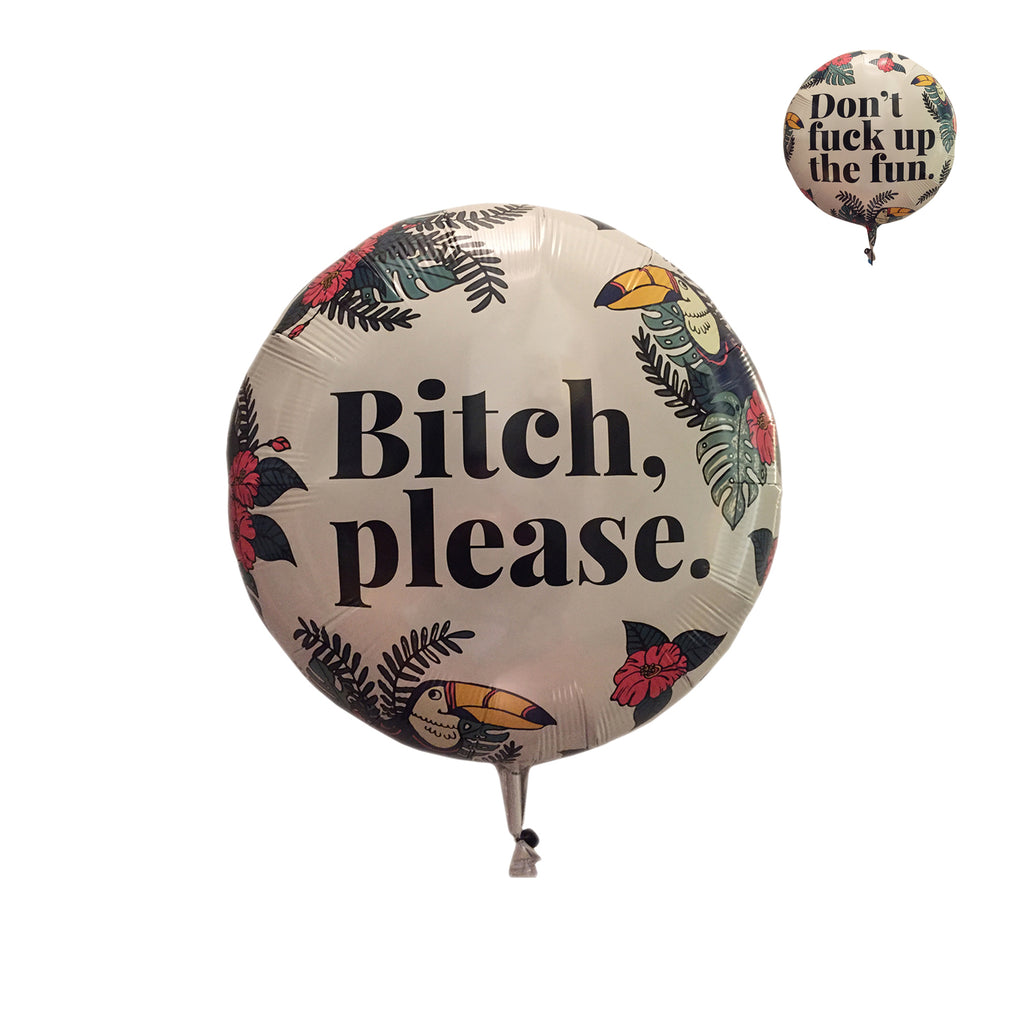 Tropical Advice (1 Double-Sided Jumbo Balloon)