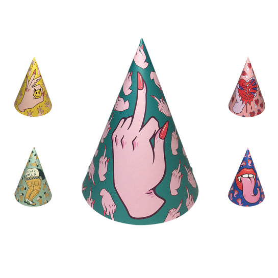 Hell Raisers (10 Party Hats)