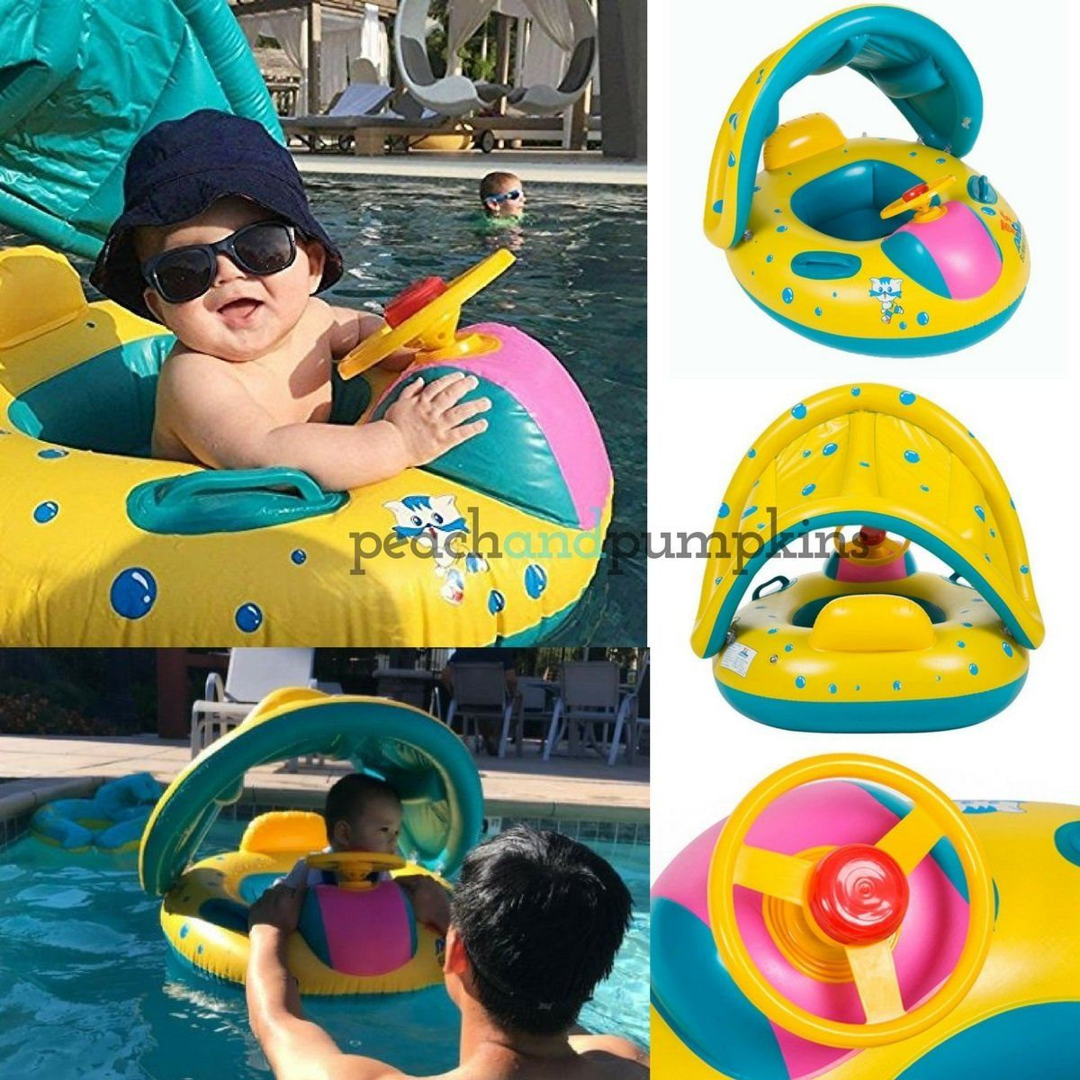 Backpacks & Carriers Water Sling Double Ring Pool Quick Dry Wrap Backpack Daily Mesh Child Beach Baby Carrier Swimming Non Slip Accessories