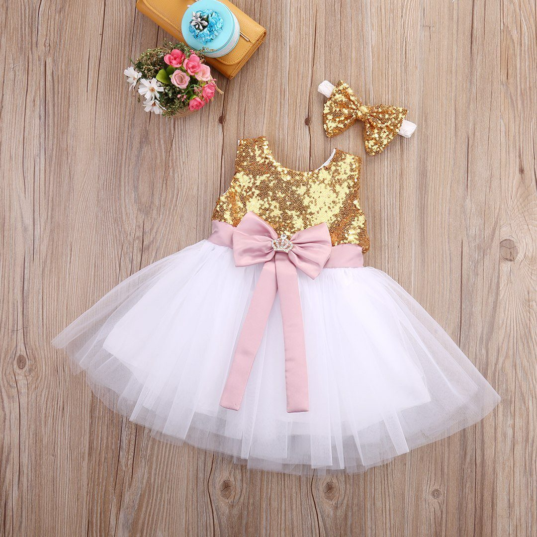 65f5e5e3e Baby Bunny Bowknot Dress - Peach and Pumpkins