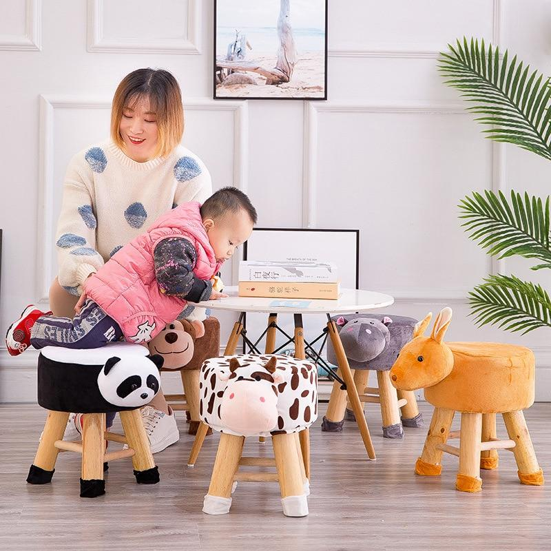 Outstanding Wooden Animal Farm Stools Creativecarmelina Interior Chair Design Creativecarmelinacom