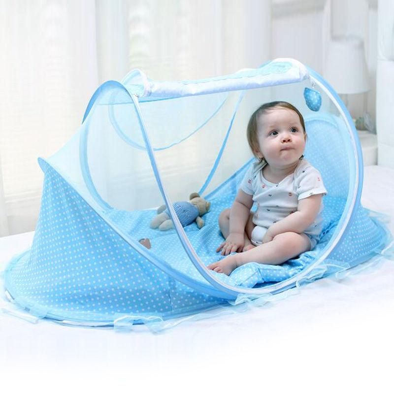 Portable Baby Tent with Mosquito Net  sc 1 st  Peach and Pumpkins & Portable Baby Tent with Mosquito Net | Baby Mosquito Net - Peach ...