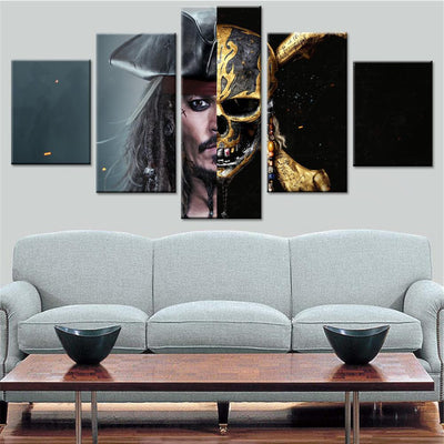 Dead Men Tell No Tales Canvas Set - Canvasist