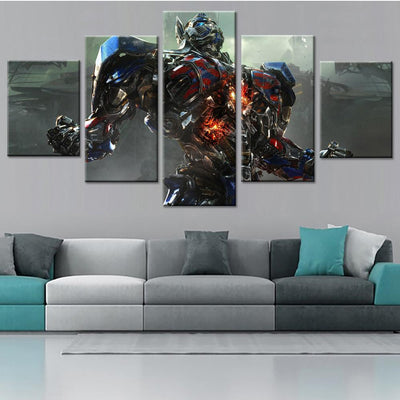Optimus Prime Canvas Set - Canvasist
