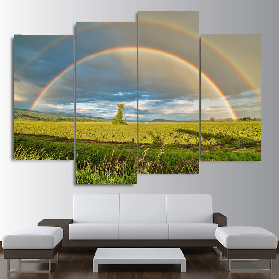 Agriculture Cloud Canvas Set - Canvasist