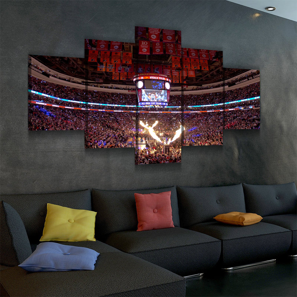 The Sixers Stadium (2) Canvas set