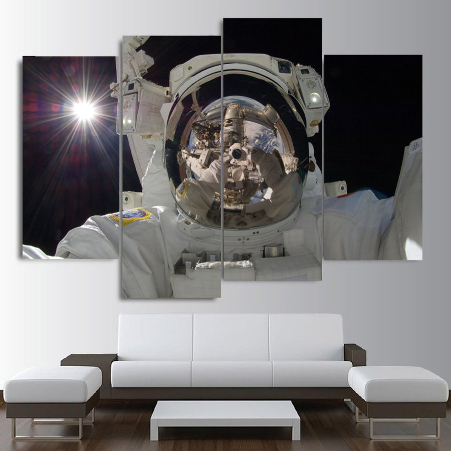 Astronaut's Exploration Canvas Set - Canvasist