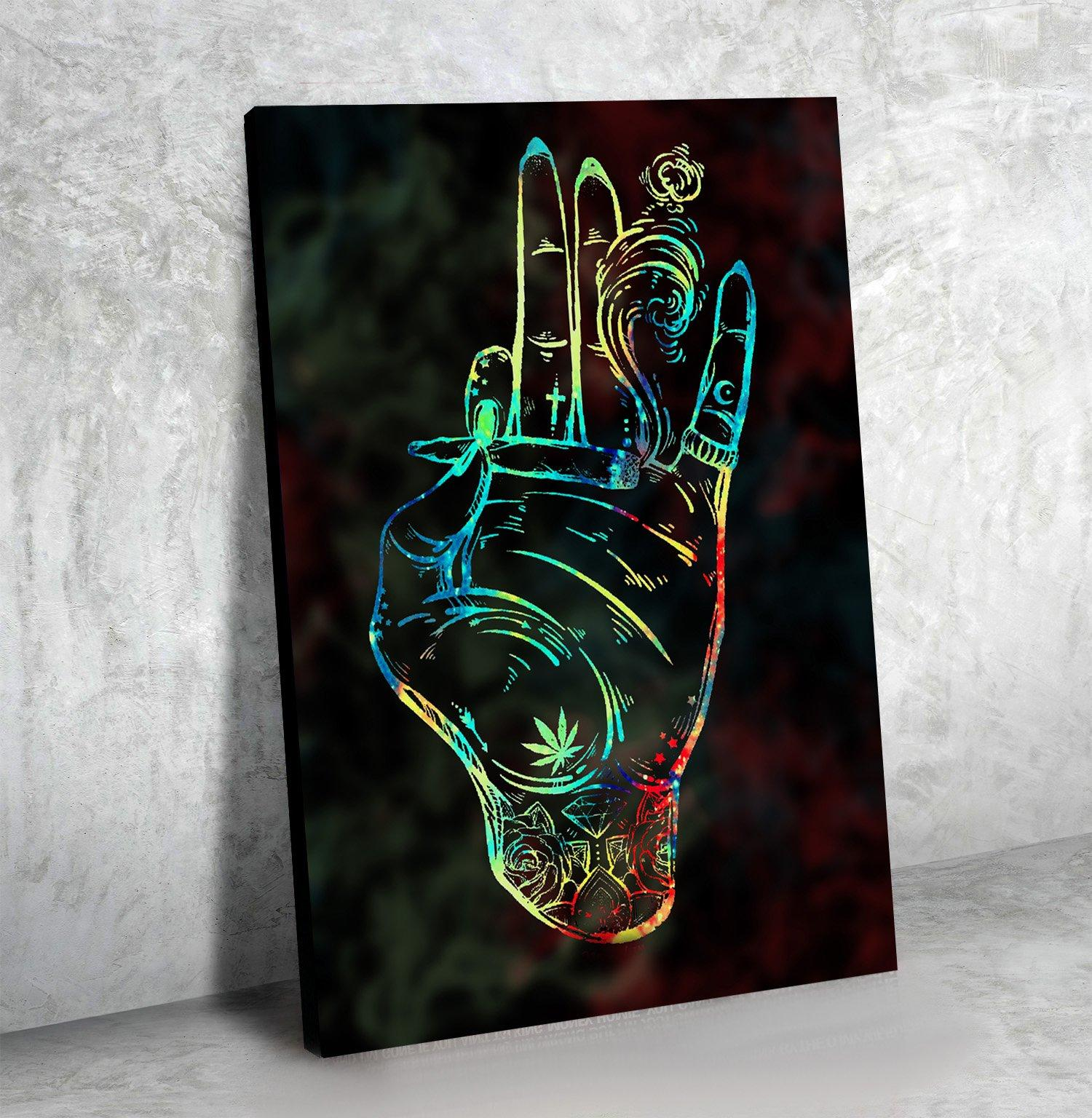Enlightened Hand (2) - Canvasist