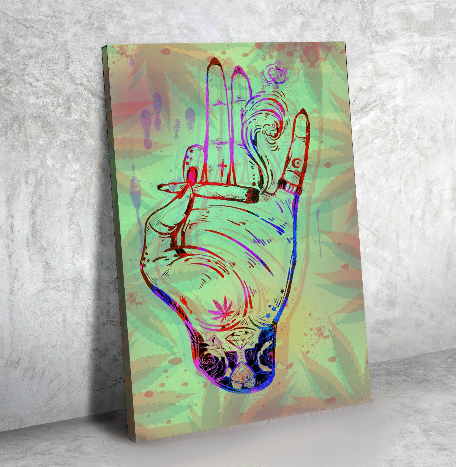 Enlightened Hand - Canvasist