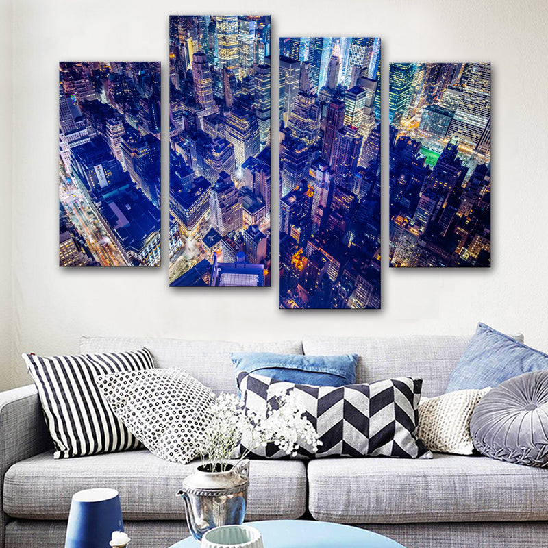 New York Cityscape Canvas Set
