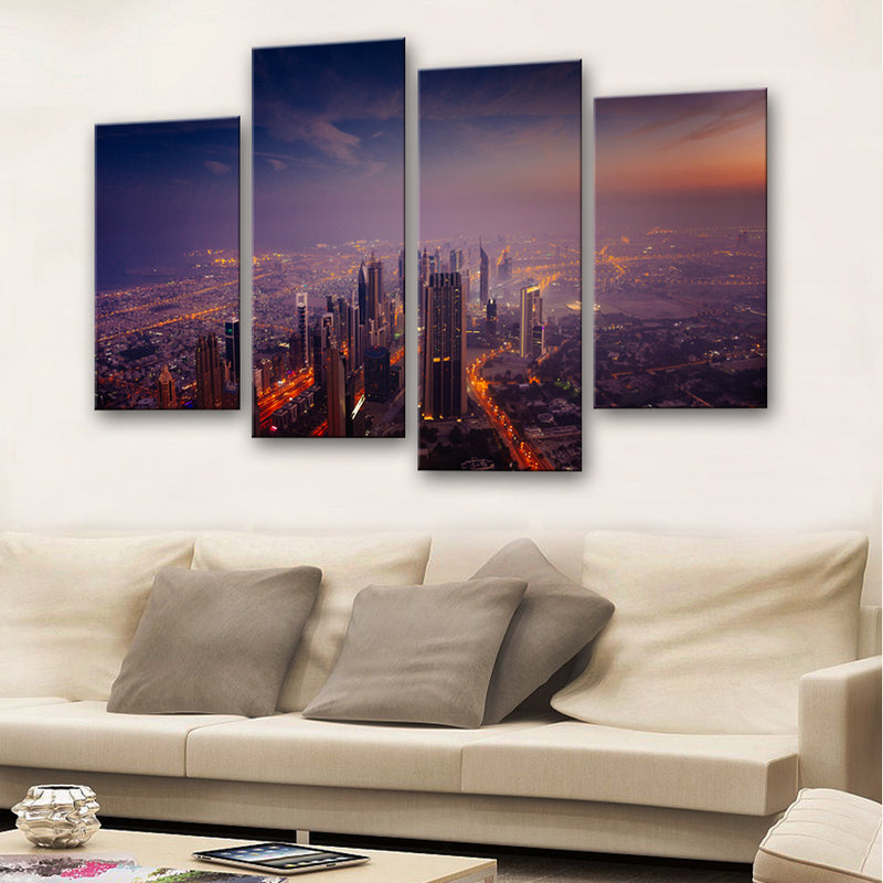 Dubai City Canvas Set - Canvasist