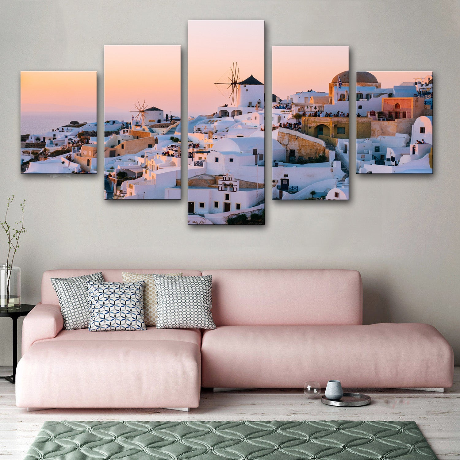 Santorini Canvas Set - Canvasist