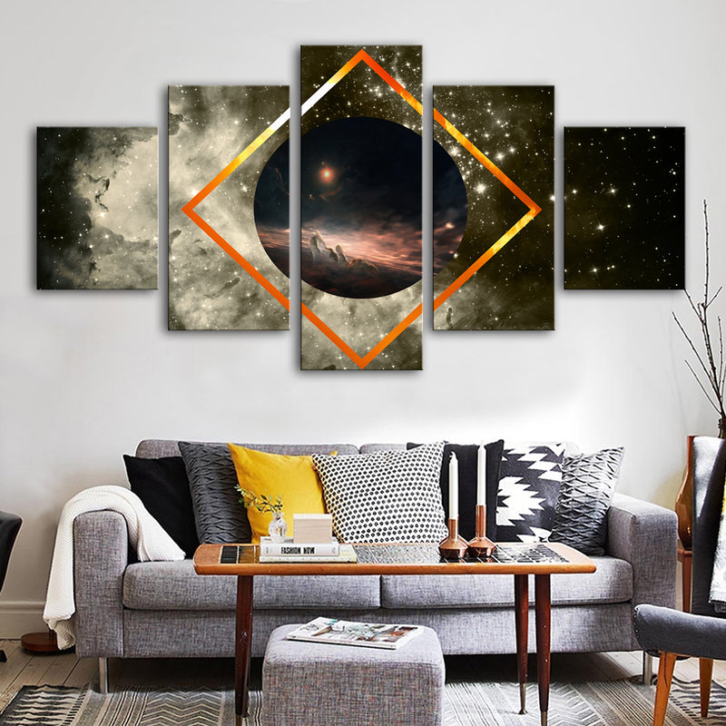 Visible Spectrum Canvas Set - Canvasist