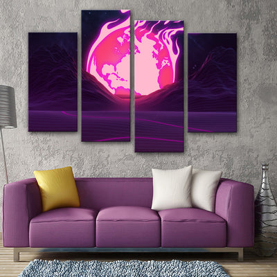 Dawn of the End Canvas Set - Canvasist
