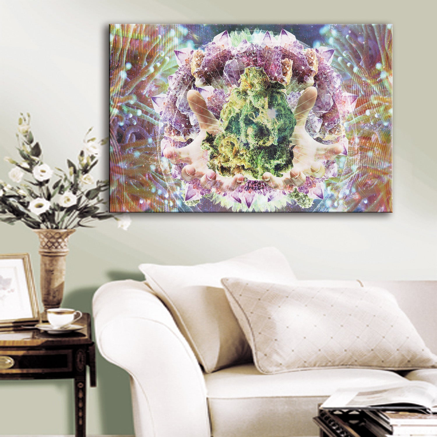 Divine Weed Canvas Set - Canvasist