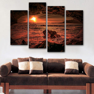 Enlightened Ridges Canvas Set - Canvasist