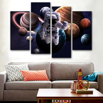 Eliptical Circus Canvas Set - Canvasist