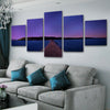 Bridge to sunset Canvas Set - Canvasist