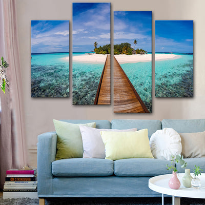 Pathway to Paradise Canvas Set - Canvasist