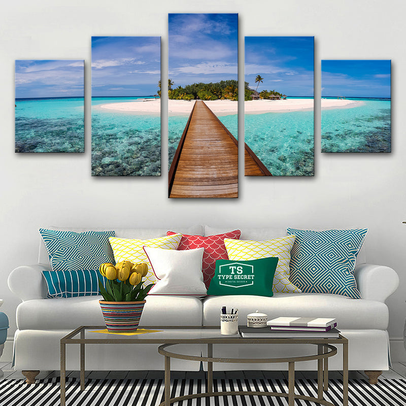 Pathway to Paradise Canvas Set