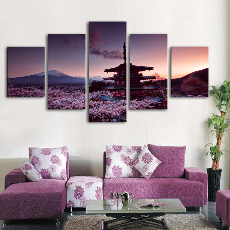 Spiritual Paradise-Mt Fuji Canvas Set - Canvasist